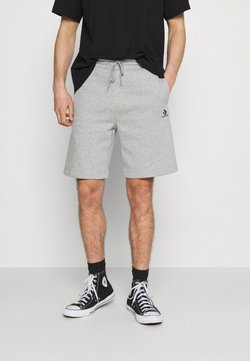 Converse - EMBROIDERED STAR CHEVRON - Shorts - mottled grey