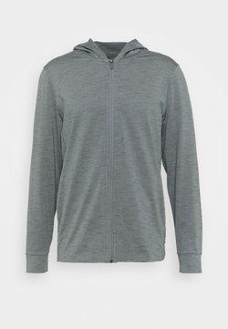Nike Performance - DRY YOGA - Chaqueta de entrenamiento - smoke grey/iron grey
