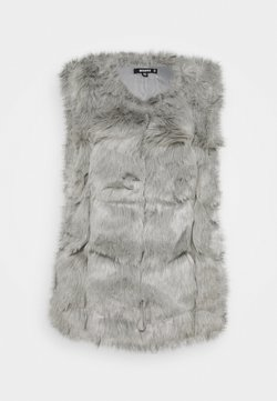 Missguided - BUBBLE GILET - Smanicato - light grey