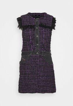 Diesel - D-OLGA - Vestido informal - black/purple