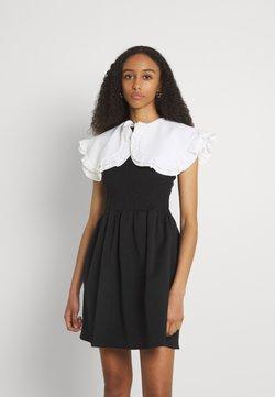 Sister Jane - POSTCARD CONFESSIONS MINI DRESS - Vestito estivo - black