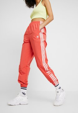 adidas Originals - LOCK UP ADICOLOR NYLON TRACK PANTS - Jogginghose - trace scarlet/white