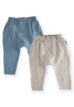 Cigit - PACK MUSLIN  SET - Pantalones cargo - blue