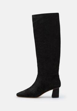 3.1 Phillip Lim - TESS SQUARE TOE SHAFT BOOT - Boots - black