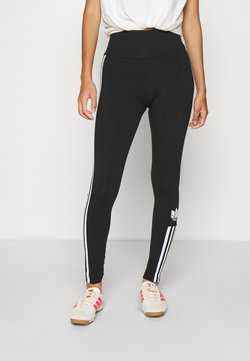 adidas Originals - COLOR SPORTS INSPIRED SLIM TIGHTS - Legging - black/white