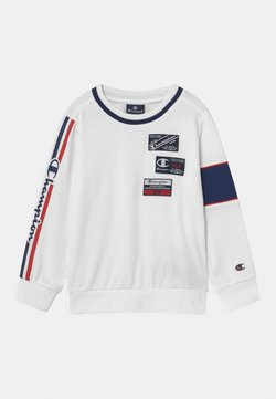 Champion - BASKET GAME CREWNECK UNISEX - Bluza - white