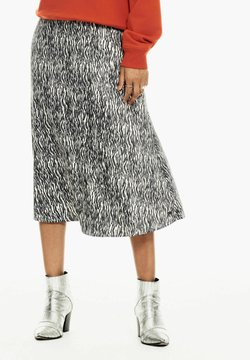 Garcia - WITH ZEBRA PRINT - A-Linien-Rock - black