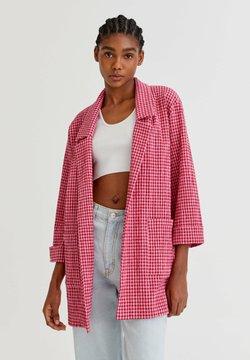 PULL&BEAR - Kurzmantel - mottled pink