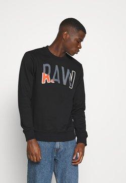 G-Star - DENIM APPLIQUE  - Sweatshirt - black