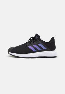 adidas Performance - GAMECOURT  - All court tennisskor - core black/footwear white