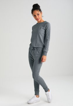 New Look - CREW NECK - Jumpsuit - grey marl