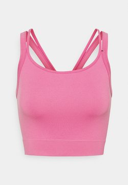 Cotton On Body - SEAMLESS DOUBLE STRAP VESTLETTE - Top - aurora pink