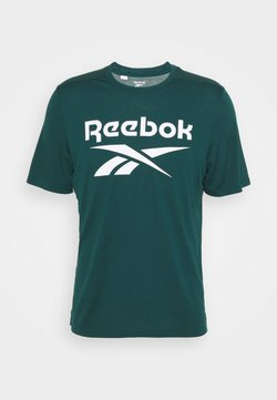 Reebok - WOR SUP GRAPHIC TEE - T-Shirt print - forgrn
