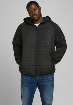 Jack & Jones - PLUS SIZE GESTEPPTE - Winterjacke - black