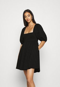Free People - VIOLET MINI DRESS - Freizeitkleid - black