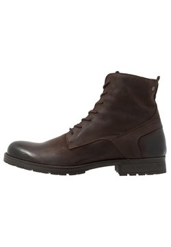 Jack & Jones - JFWORCA  - Schnürstiefelette - brown stone