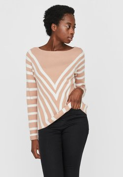 Noisy May - NMARIA L/S BOATNECK KNIT - Strickpullover - light pink