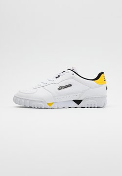 Ellesse - TANKER - Sneakers laag - white/black/yellow/grey