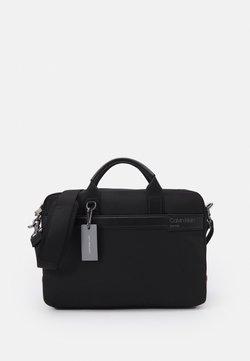 Calvin Klein - LAPTOP BAG UNISEX - Aktówka - black