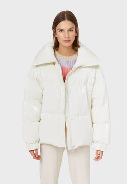 Stradivarius - Winterjacke - white