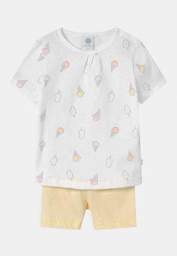 Sanetta - SET UNISEX - Pijama - white pebble