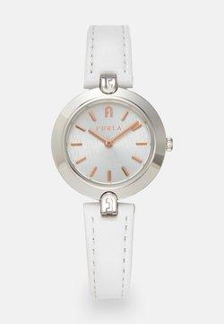 Furla - FURLA LOGO LINKS - Montre - white/silver-coloured