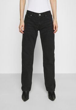 Weekday - ARROW LOW - Jeans straight leg - washed black