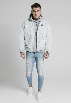 SIKSILK - Giacca di jeans - light blue