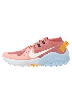 Nike Performance - WILDHORSE 6 - Laufschuh Trail - canyon pink/pale ivory/pink quartz/sky grey/psychic blue/pollen rise
