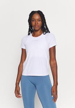 Casall - ICONIC TEE - T-Shirt basic - white