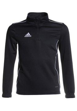 adidas Performance - CORE 18 SWEATSHIRT - Tekninen urheilupaita - black/white