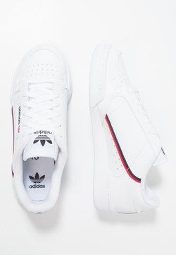 adidas Originals - CONTINENTAL 80 - Sneakers laag - footwear white/scarlet/collegiate navy
