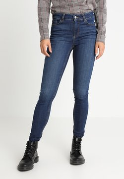 Pieces - PCFIVE DELLY - Jeans Skinny Fit - dark blue denim