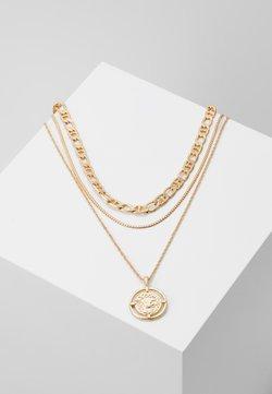 Pieces - PCPRIMA COMBI NECKLACE 3 PACK - Necklace - gold-coloured