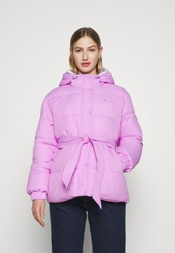 Tommy Jeans - BELTED PUFFER - Winterjacke - fresh orchid