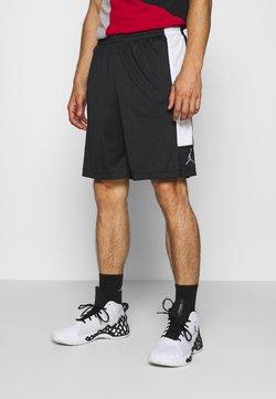 Jordan - AIR DRY SHORT - Pantalón corto de deporte - black/white