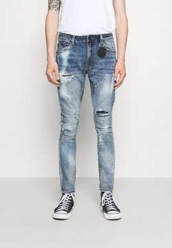 AMICCI - CALGARI CARROT FIT  - Jeans Tapered Fit - light blue