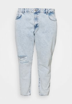 Noisy May Curve - NMISABEL MOM - Relaxed fit jeans - light blue denim