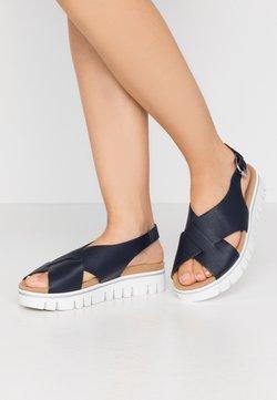 Gabor Comfort - Sandalen met plateauzool - midnight
