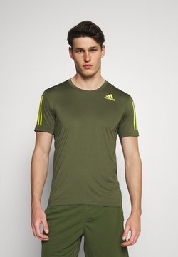 adidas Performance - T-Shirt print - khaki