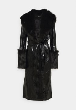 Missguided Tall - CROC - Trench - black