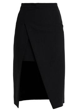 maje - JEANNE - Spódnica ołówkowa  - noir