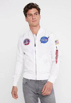 Alpha Industries - NASA REVERSIBLE II - Giubbotto Bomber - weiß