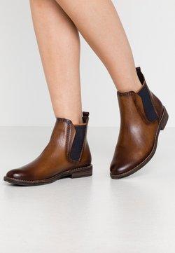 Marco Tozzi - Ankle Boot - cognac lizard