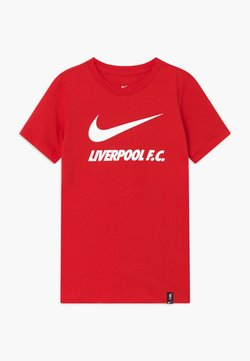Nike Performance - LIVERPOOL FC TEE GROUND - Equipación de clubes - university red