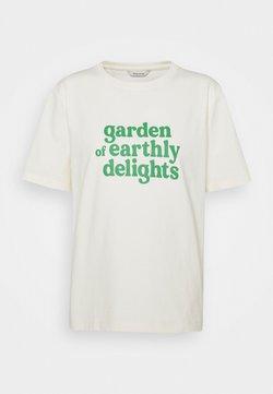 Holzweiler - KJERAG TEE  - T-shirts med print - ecru