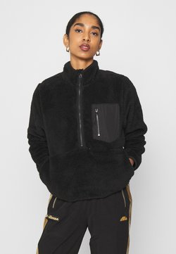 ONLY - ONLDALINA ZIP - Fleecepullover - black