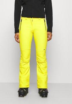 J.LINDEBERG - STANFORD - Pantalón de nieve - banging yellow