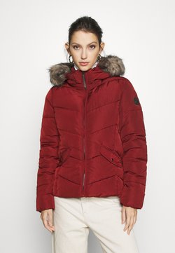 ONLY - ONLROONA QUILTED JACKET - Kurtka zimowa - fired brick