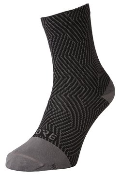 Gore Wear - GORE® C3 SOCKEN MITTELLANG - Sportsocken - graphite grey/black